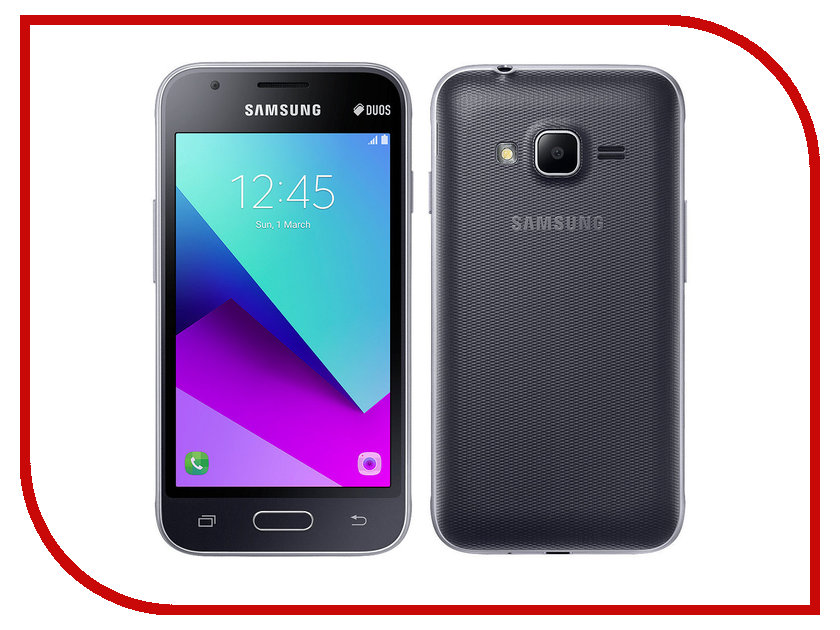 Сотовый телефон Samsung SM-J106F/DS Galaxy J1 Mini Prime Black сотовый телефон samsung sm a500f ds galaxy a5 duos white