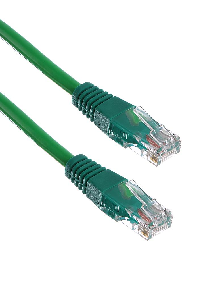 Сетевой кабель ExeGate UTP cat.5e 0.3m Green 258665