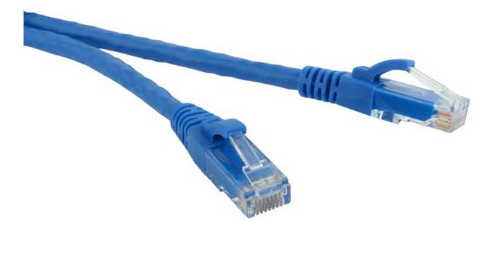 Сетевой кабель ExeGate UTP cat.5e 1.5m Blue 241493