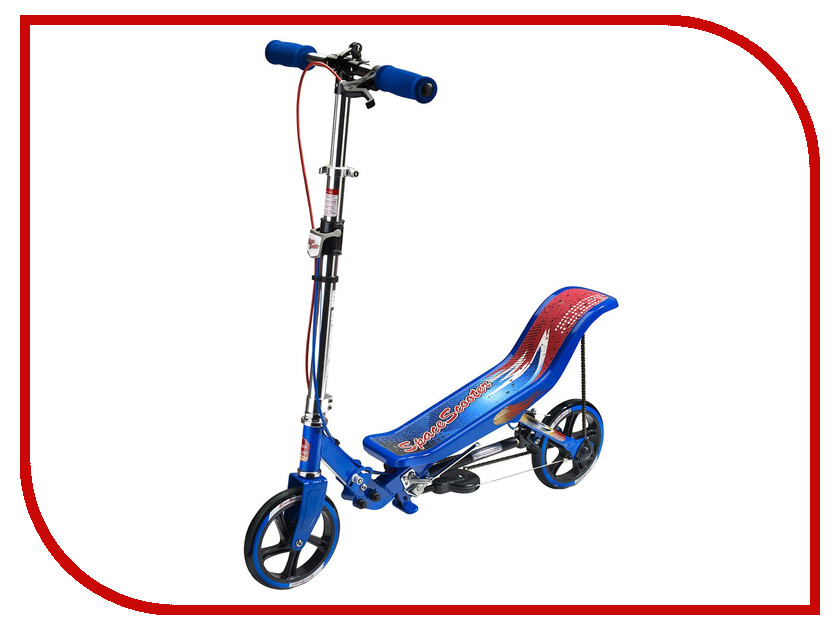 Самокат Space Scooter X580 Blue