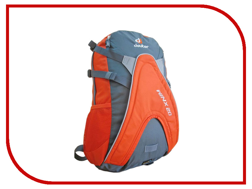 Велорюкзак Deuter 2016-17 Winx 20 Granite-Papaya 42604_4904