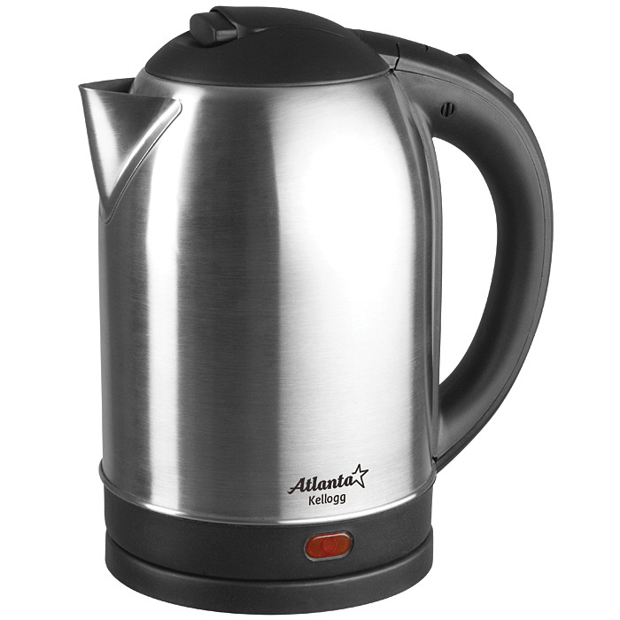 Чайник Atlanta ATH-2432 1.8L Black