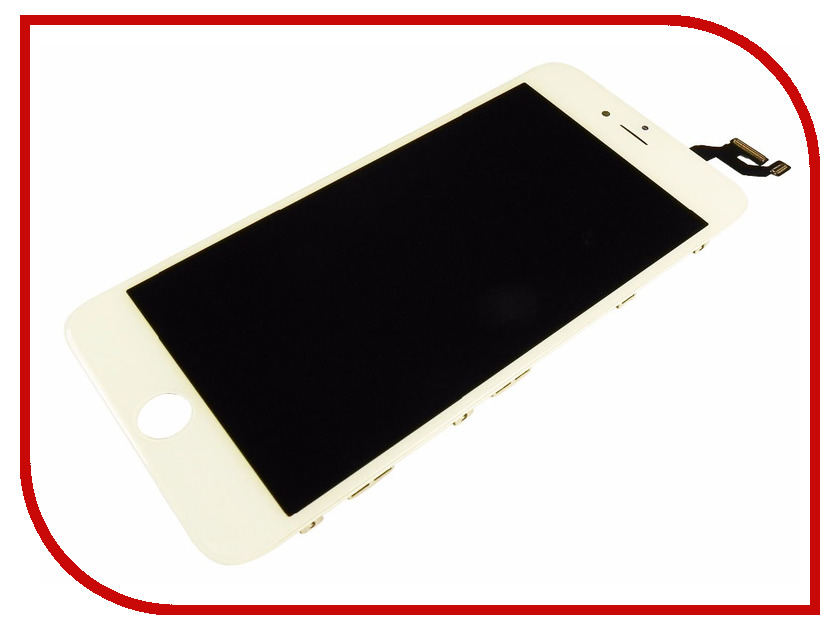 Дисплей Monitor LCD for iPhone 6 Plus White дисплей monitor lcd for iphone 5c black
