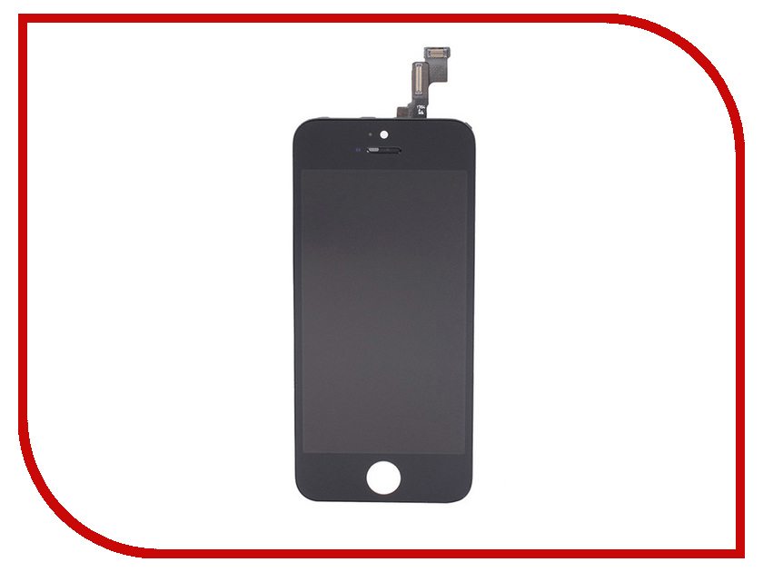 Дисплей Monitor LCD for iPhone 5S Black free shipping 20pcs lot tea1733p lcd new original