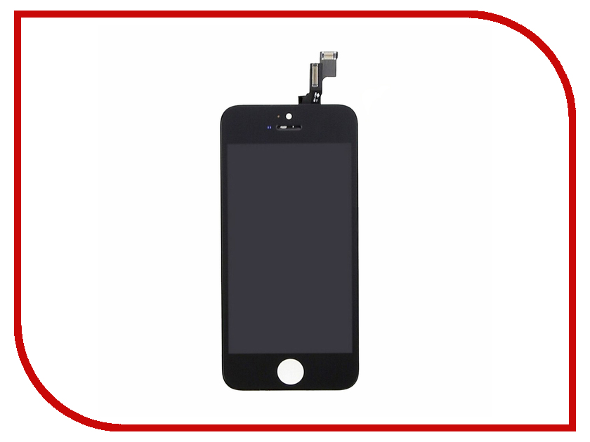 Дисплей Monitor LCD for iPhone 5C Black