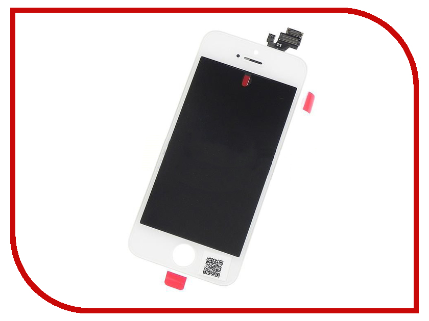 Дисплей Monitor LCD for iPhone 5 White дисплей monitor lcd for iphone 5c black