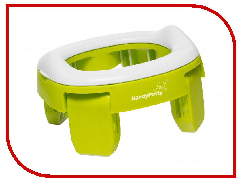 Горшок Roxy-Kids HandyPotty Lime HP-250GR цена