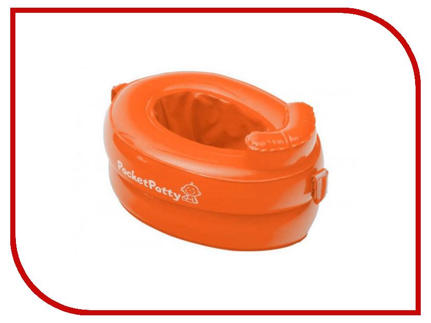 горшки, сиденья на унитазы, писсуары PocketPotty  Горшок Roxy-Kids PocketPotty Orange PP-3102R