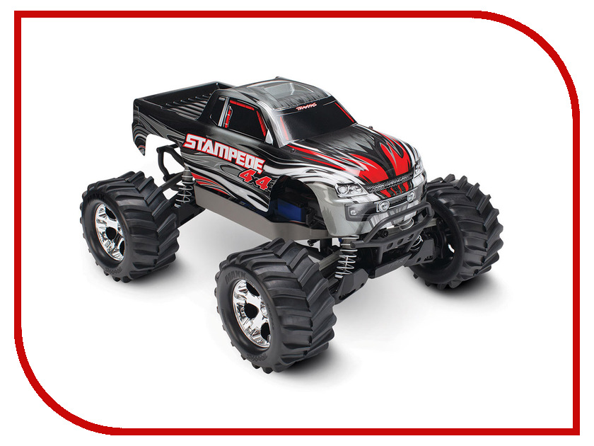 Игрушка Traxxas Stampede 4x4 1/10 TRA67054-1 2pcs traxxas original 1 5 x maxx tires wheels tire tyre for 1 5 traxxas x maxx rc monster truck model 7772