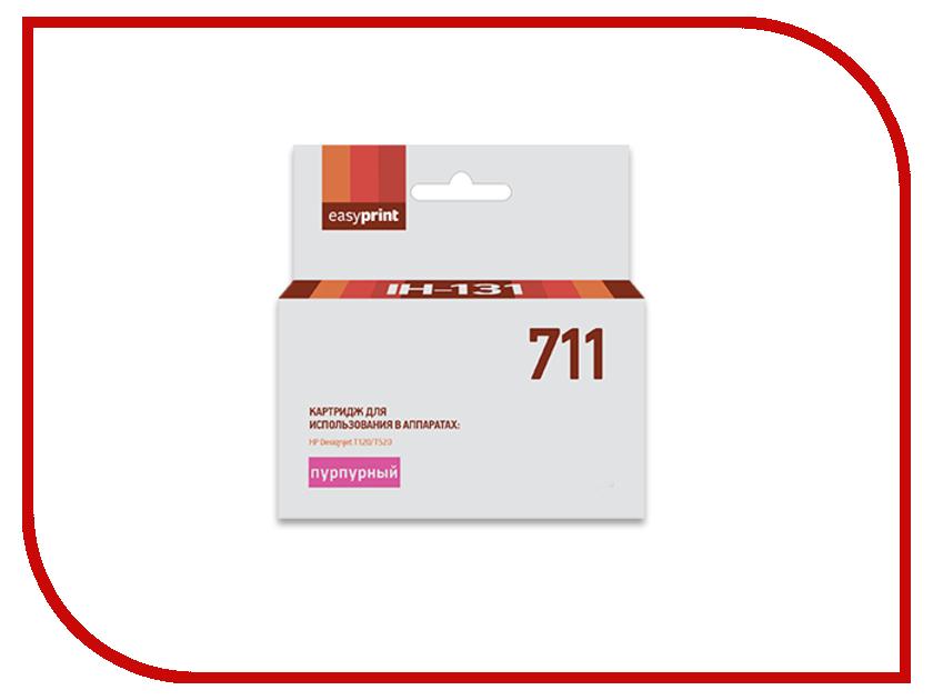 Картридж EasyPrint IH-131 №711 Magenta для HP Designjet T120/520 видеорегистратор artway av 711 av 711