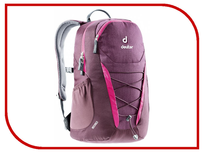 Велорюкзак Deuter 2017 Go Go Blackberry Dresscode 3820016-5032 рюкзак deuter giga blackberry dresscode
