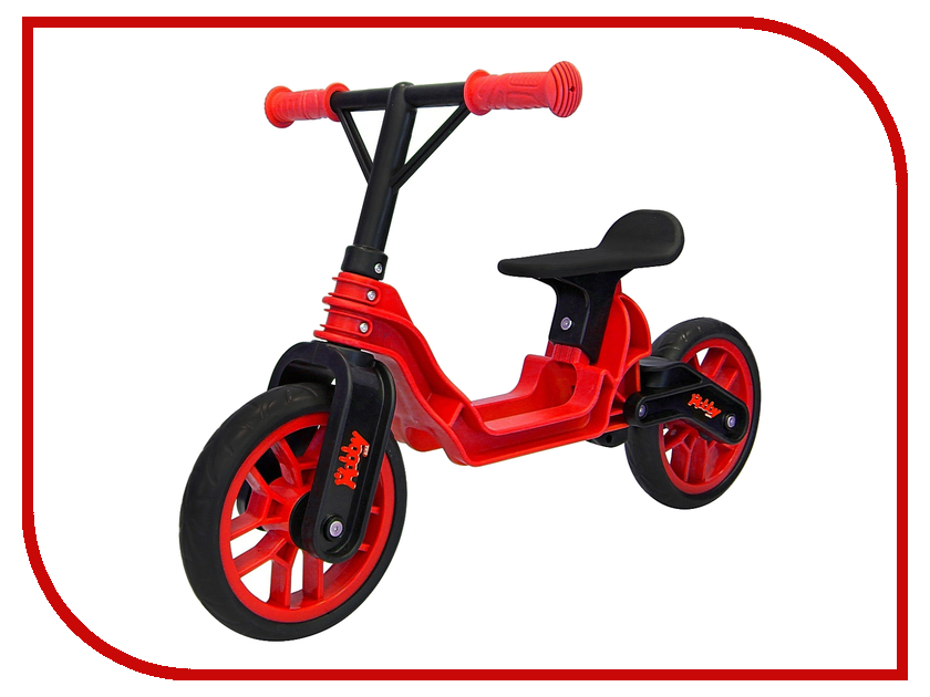 Беговел RT Hobby-bike Magestic Red-Black ОР503 беговел rt hobby bike fly a черная оса red black