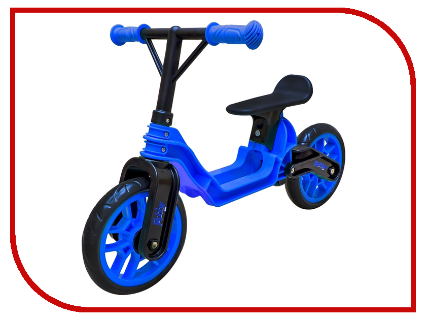Беговел RT Hobby-bike Magestic Blue-Black ОР503 беговел rt hobby bike fly a черная оса red black