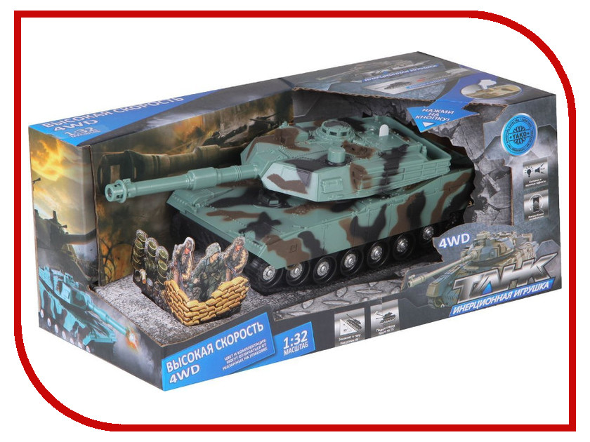 Машина Yako Танк Y12318103 игрушка yako танк r6107 1