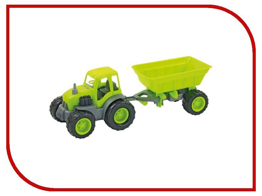 Машина Zebratoys Трактор с прицепом 15-10174 мир отечественных моделей трактор мтз 82 с прицепом
