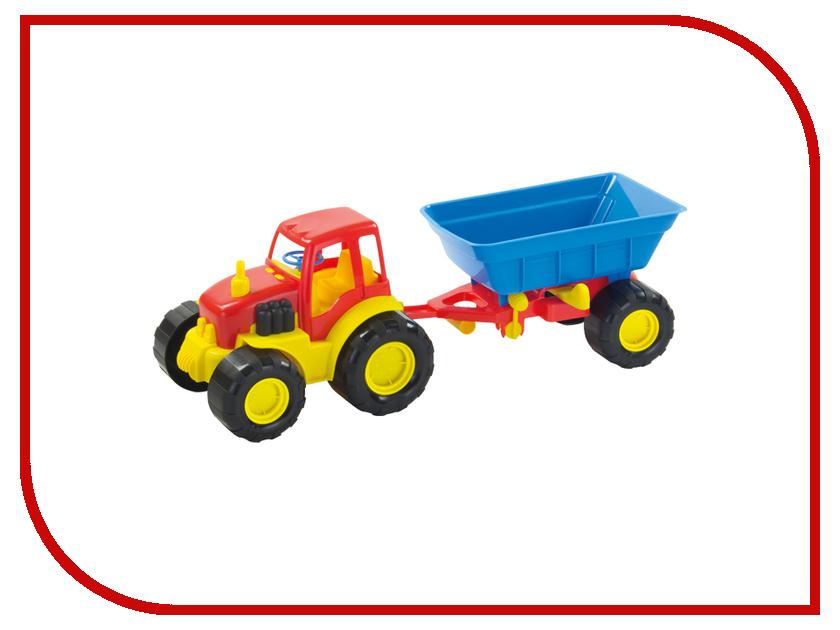 Игрушка Zebratoys Трактор с прицепом Active 15-5229 машина zebratoys трактор c каской и лопатой 15 10593