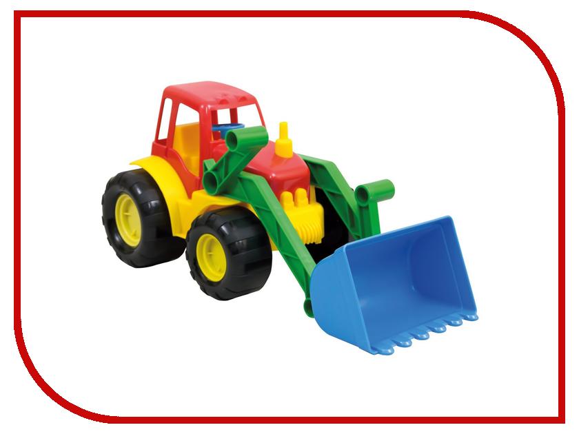Машина Zebratoys Трактор с ковшом Active 15-5224 лопата с каской zebratoys