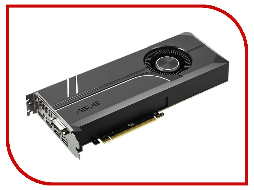 Видеокарта ASUS GeForce GTX 1070 1506Mhz PCI-E 3.0 8192Mb 8008Mhz 256 bit DVI 2xHDMI HDCP TURBO-GTX1070-8G видеокарта 6144mb msi geforce gtx 1060 gaming x 6g pci e 192bit gddr5 dvi hdmi dp hdcp retail