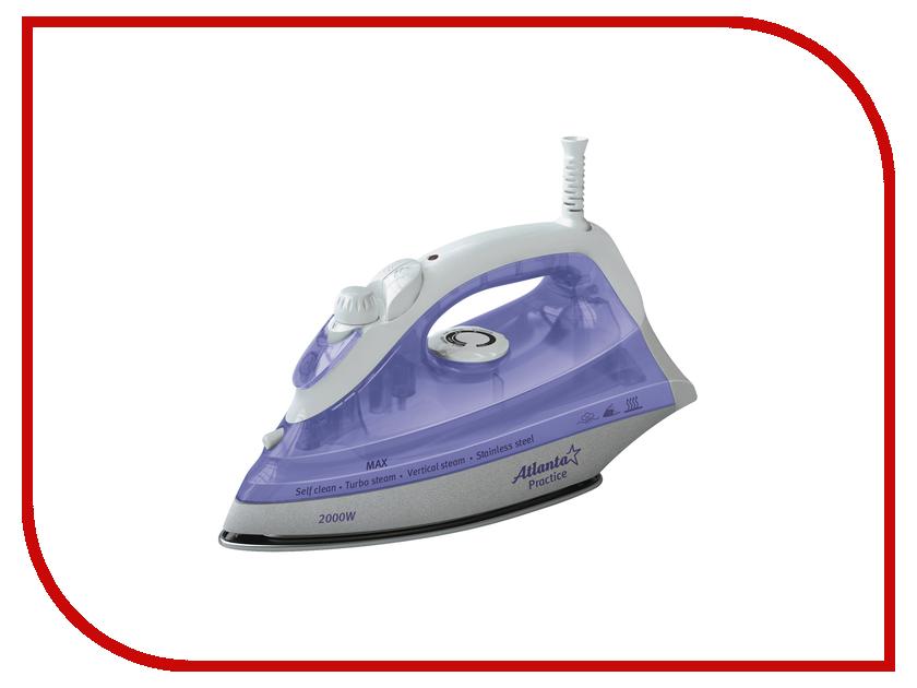 Утюг Atlanta ATH-5494 White-Violet atlanta ath 5537 violet утюг