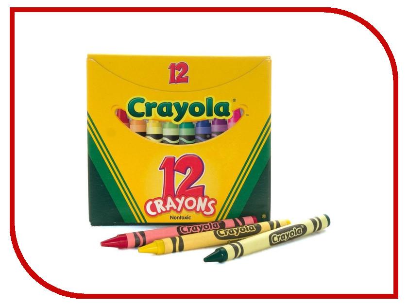 Набор Crayola Восковые мелки 12шт 0012C