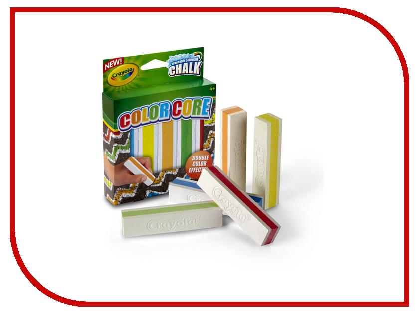 Набор Crayola Мел для асфальта 5шт 03-5801C набор crayola мел для асфальта 5шт 03 5801c