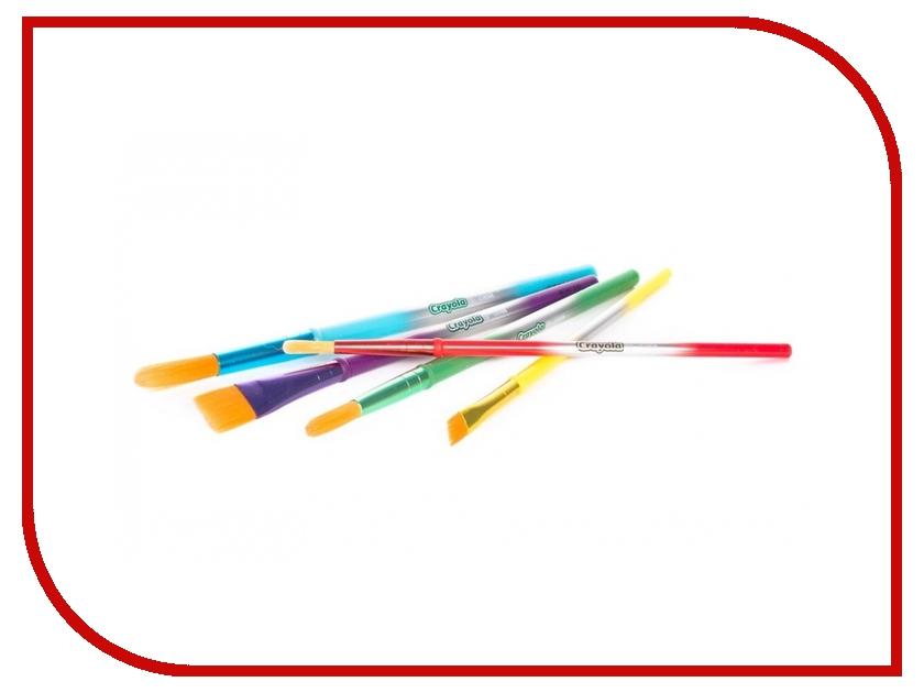 Кисточки Crayola 5шт 3007 crayola llc crayola oil pastels 28 color set set of 12