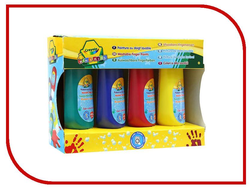 Смываемые краски Crayola 4шт 3239 футболка ting tx3239 2015 3239