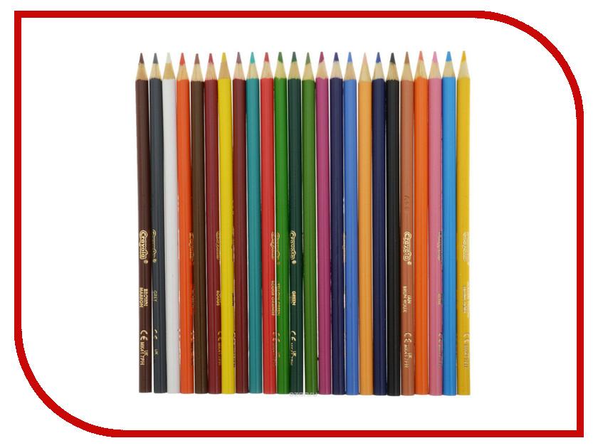 Набор Crayola Карандаши 24шт 3624 салфетки plus long 24шт