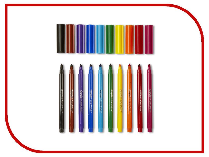 Фломастеры Crayola 10 цветов 58-5053 раскраска фломастеры crayola принцессы color wonder 75 1919