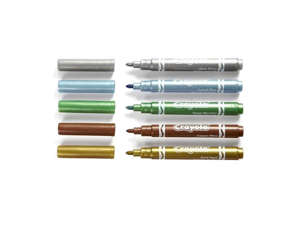 Фломастеры Crayola 5 цветов 58-5054 фломастеры crayola 12 цветов 58 8329