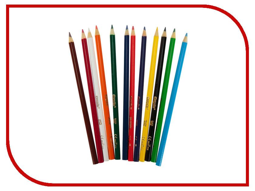 Набор Crayola Карандаши 12шт 3612