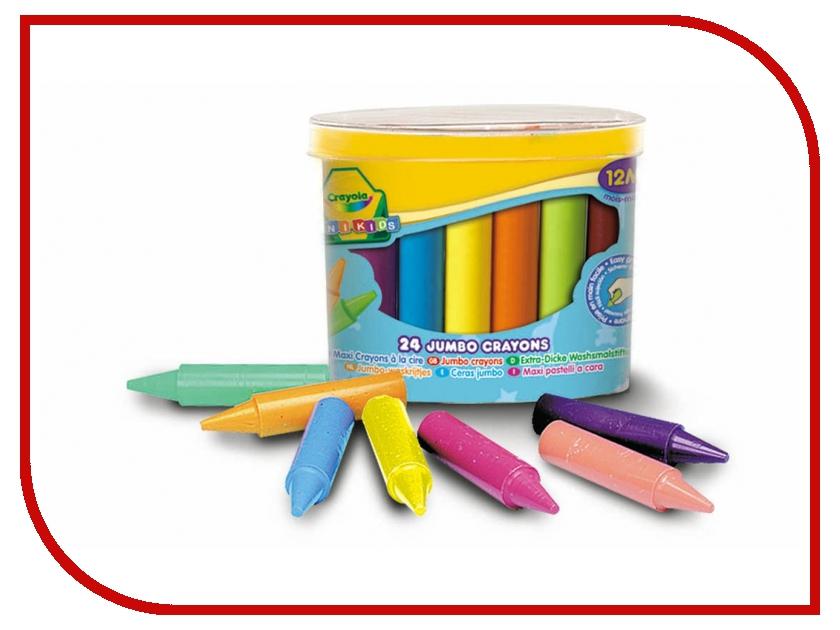 Восковые мелки Crayola 24шт 0784C crayola llc crayola oil pastels 28 color set set of 12