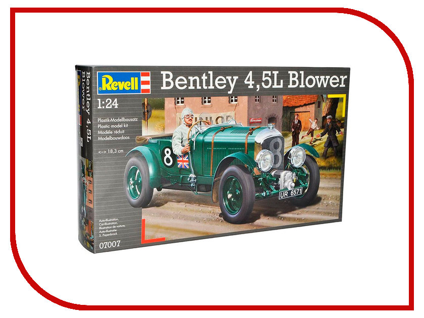 Сборная модель Revell Bentley 4.5L Blower 07007R