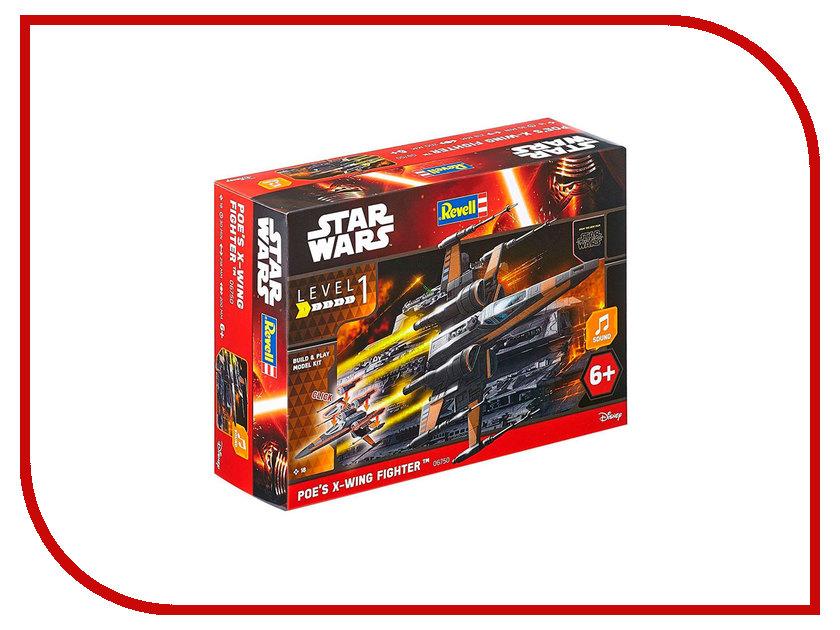 Сборная модель Revell Звездные войны, Истребитель По 06750R игрушка сборная модель revell серия звездные войны истребитель по
