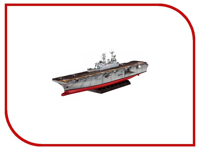 Сборная модель Revell Десантный корабль U.S.S. Iwo Jima LHD-7 05109R десантный котелок