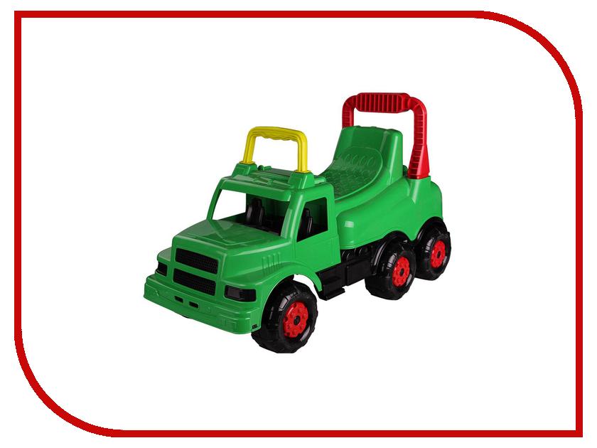 Каталка Альтернатива Весёлые гонки М4483 Green каталка альтернатива трактор м4942 blue