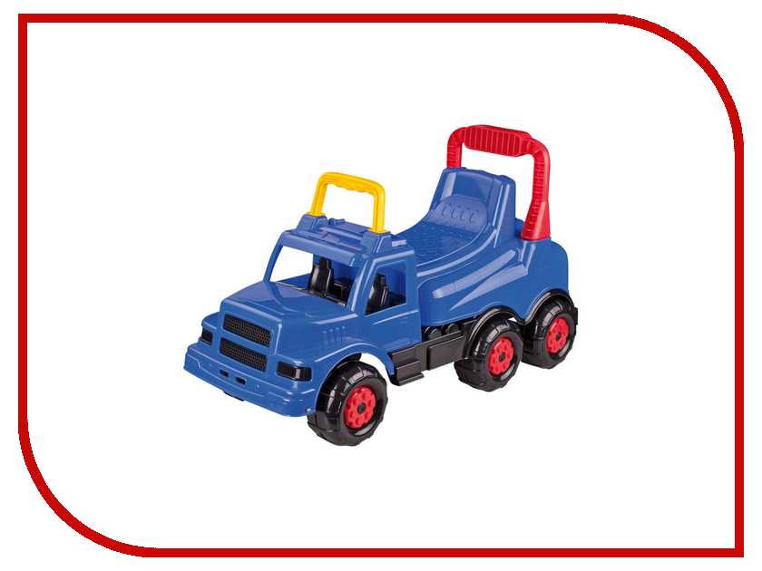 Каталка Альтернатива Весёлые гонки М4456 Blue каталка альтернатива трактор м4942 blue
