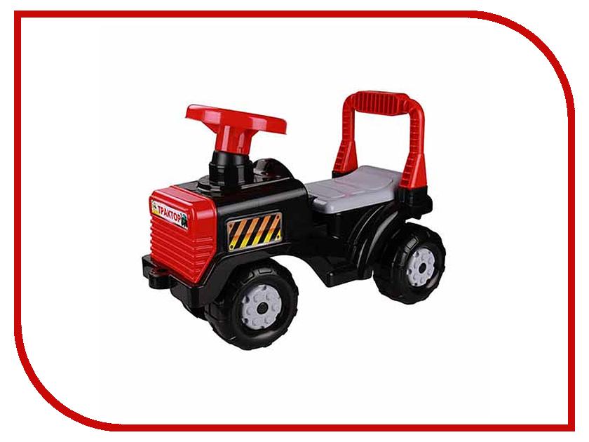 Каталка Альтернатива Трактор М4944 Black каталка альтернатива трактор м4942 blue