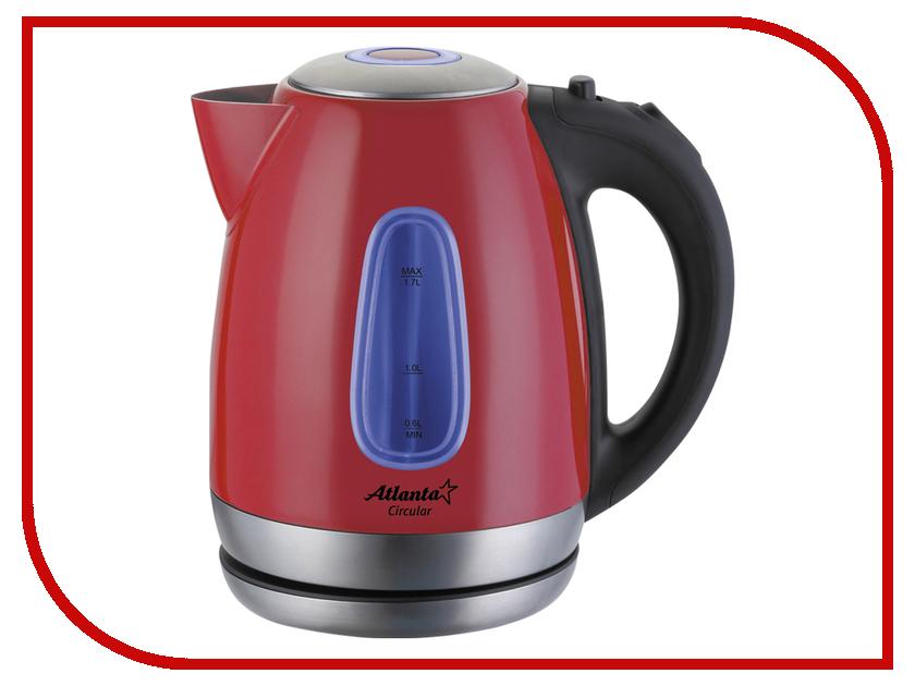 Чайник Atlanta ATH-786 Red чайник atlanta ath 2420 red