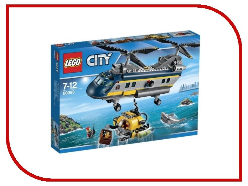 Конструктор Lego City Исследовательский вертолет 60093 конструктор lego city фургон и дом на колёсах