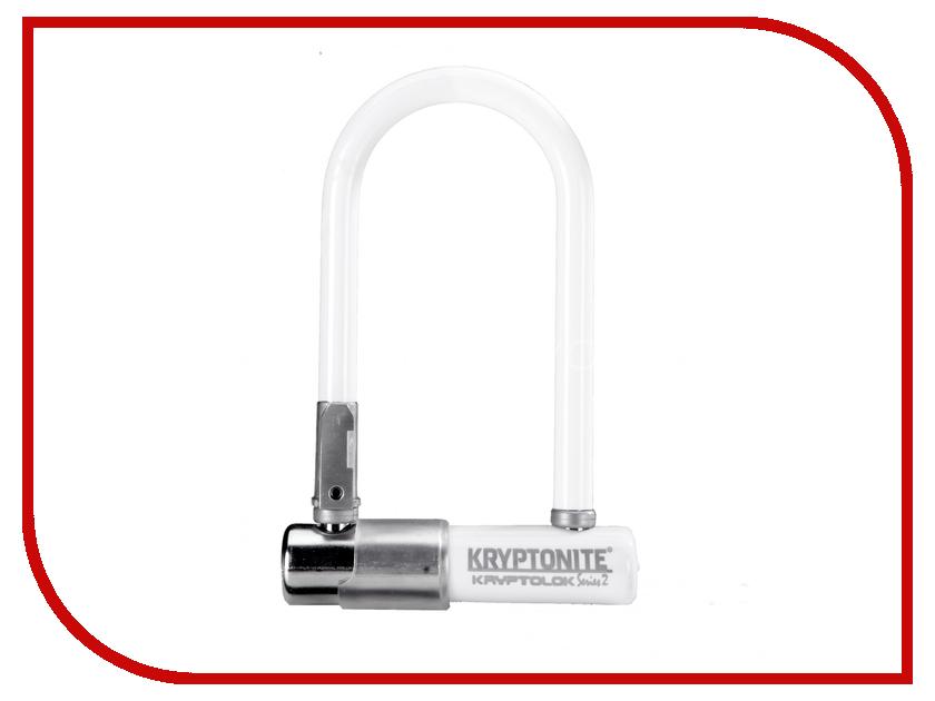 Замок Kryptonite U-Locks KryptoLok Series 2 Mini-7 w/ FlexFrame-U bracket White