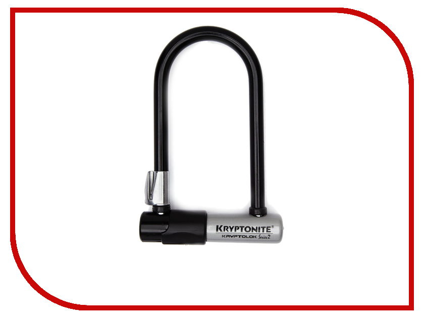 Замок Kryptonite U-Locks KryptoLok Series 2 Mini-7 w/ FlexFrame-U bracket Merlo