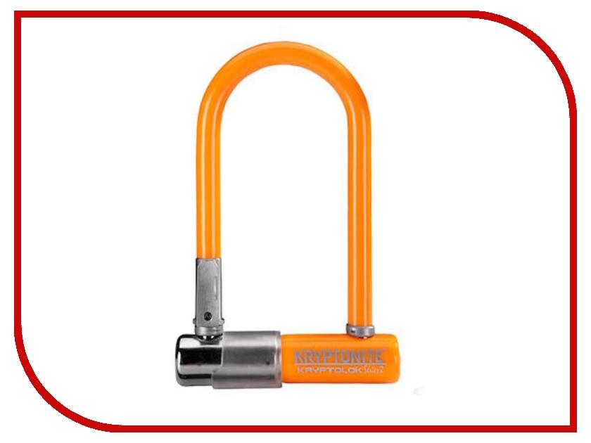 Замок Kryptonite U-Locks KryptoLok Series 2 Mini-7 w/ FlexFrame-U bracket Light Orange