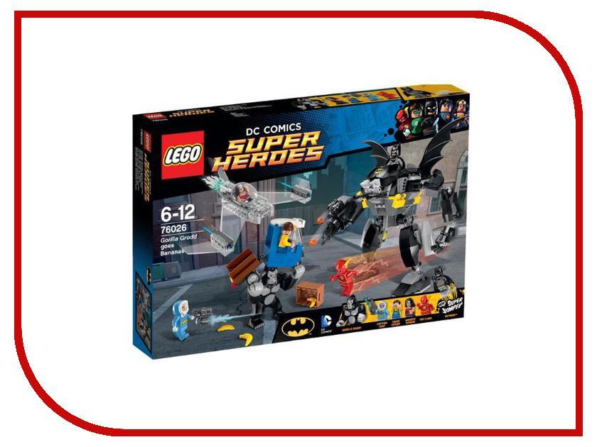 Конструктор Lego DC Super Heroes Свирепость Гориллы Гродда 76026 ночники lego игрушка минифигура фонарь lego dc super heroes супер герои dc batman бэтмен на подставке
