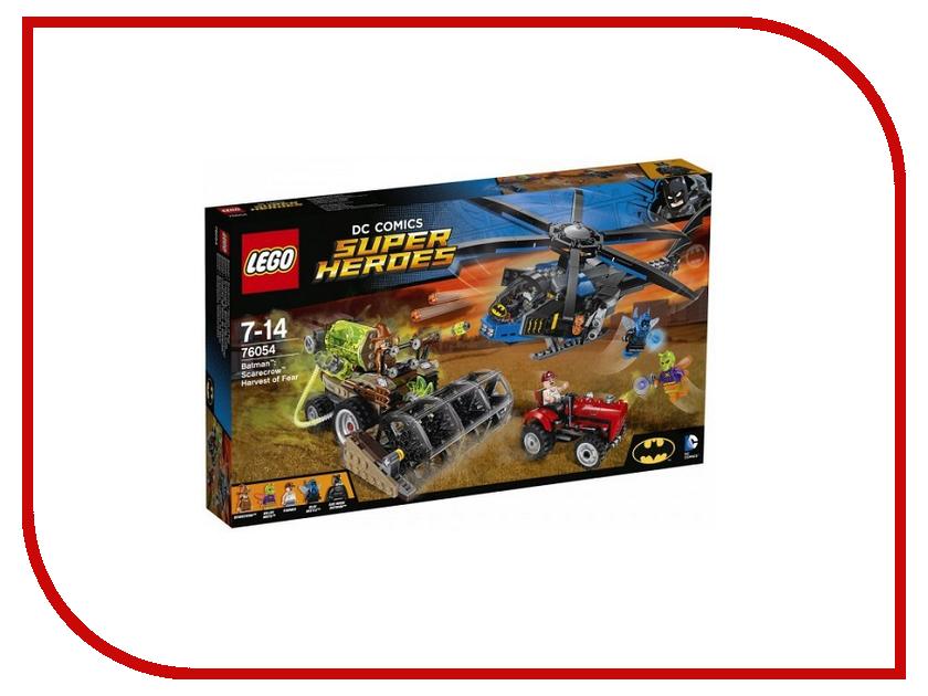 Конструктор Lego DC Super Heroes Страшный урожай Пугала 76054 ночники lego игрушка минифигура фонарь lego dc super heroes супер герои dc batman бэтмен на подставке