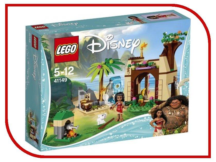 Конструктор Lego Disney Princess Остров приключений Моаны 41149 disney princess train case