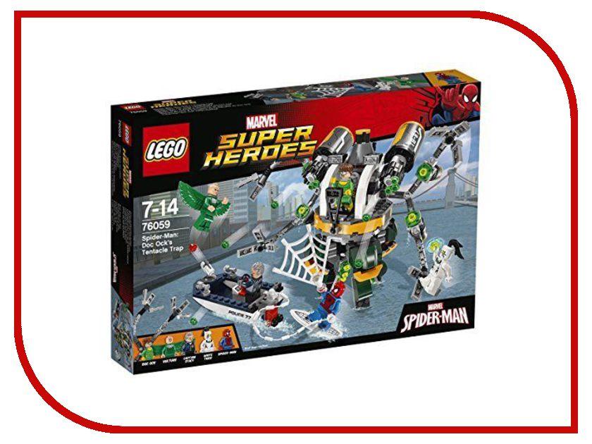Конструктор Lego Marvel Super Heroes Связь Призрачного гонщика 76059 конструктор lego super heroes spiderman в ловушке доктора осьминога 76059
