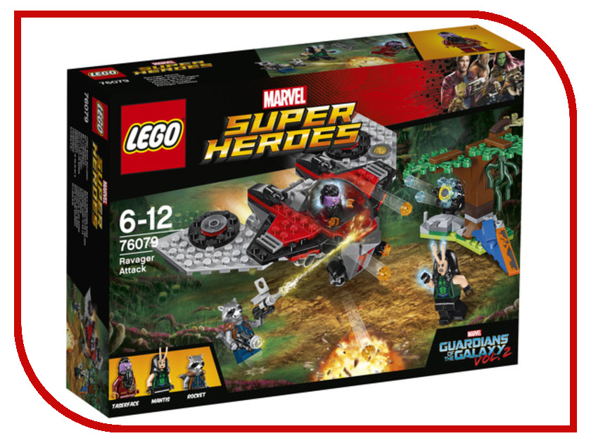 Конструктор Lego Marvel Super Heroes Атака Опустошителя 76079 конструкторы lego lego конструктор супергерои джокерленд 76035 super heroes