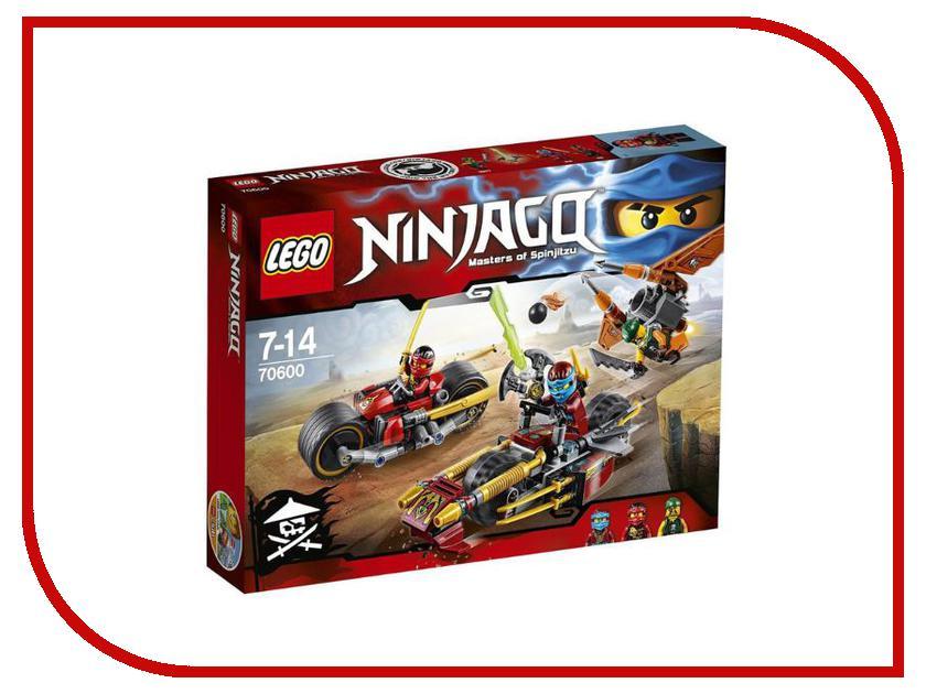 Конструктор Lego Ninjago Погоня на мотоциклах 70600 конструктор lego 41308 кондитерская стефани
