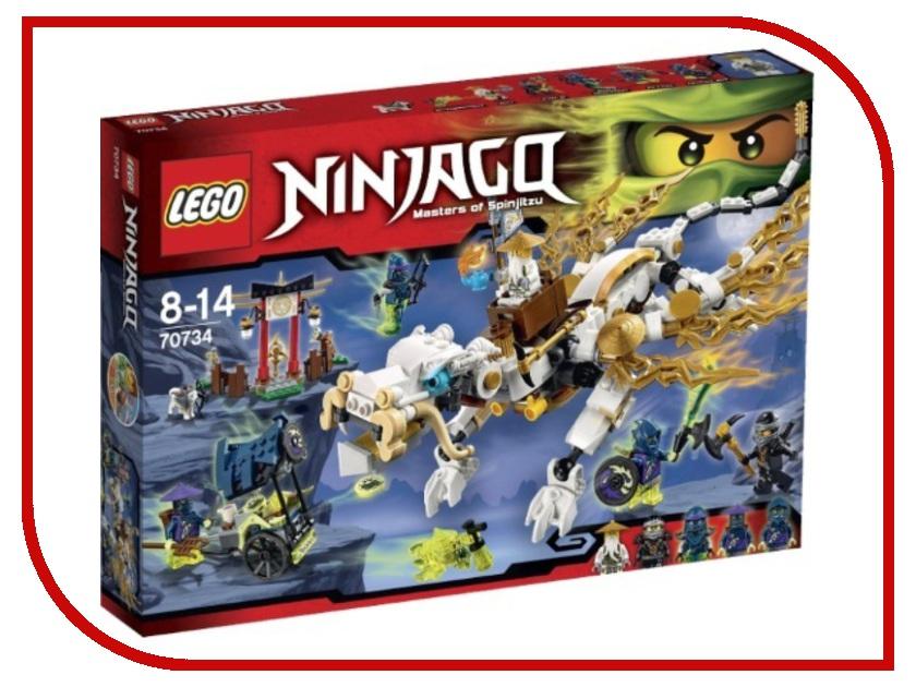 Конструктор Lego Ninjago Дракон мастера Ву 70734 лего ниндзя го дракон сенсея ву